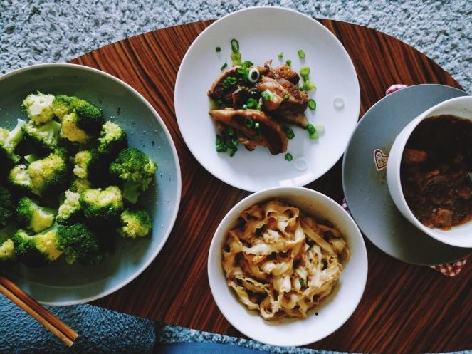 很中式的一餐